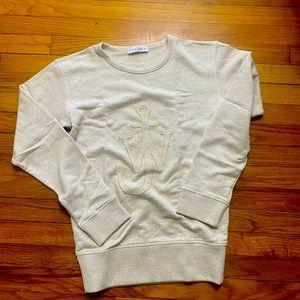 The JW Anderson 'JWA Anchor' sweatshirt XS